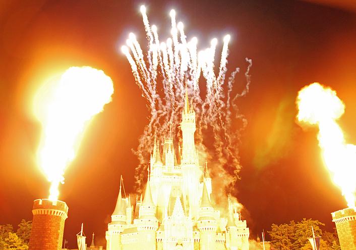 炎のシンデレラ城
