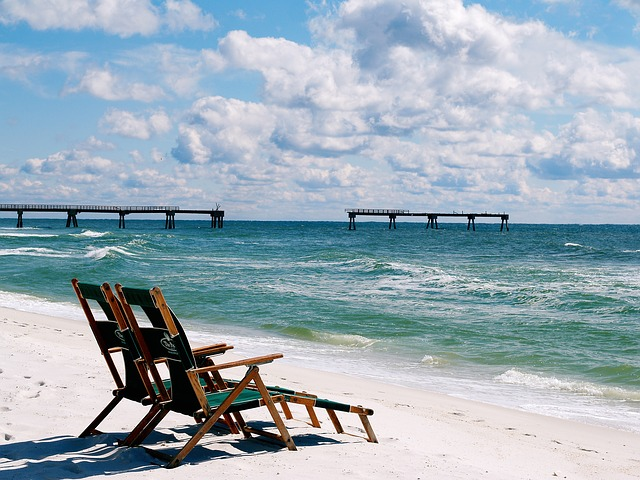 リラックス効果のあるビーチ