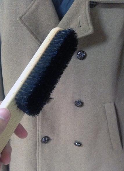ブラシとコート