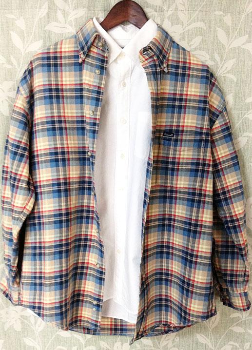FACONシャツの着こなし例