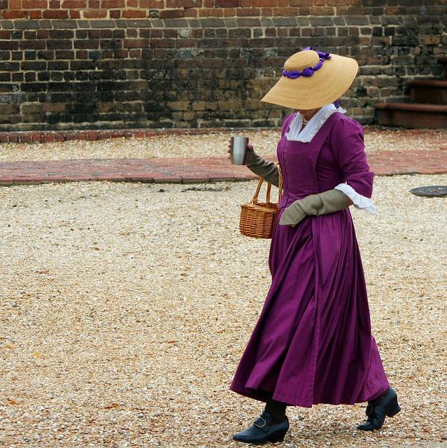 18世紀のドレス