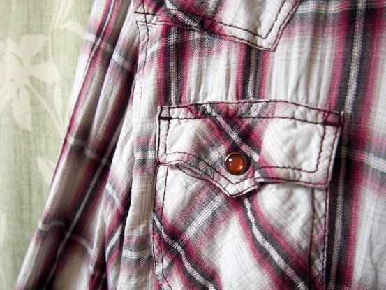 ニコルのクリンクルシャツ