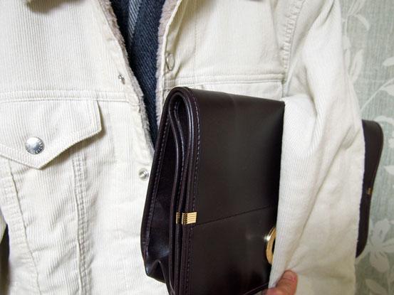 カジュアルスタイルと鞄
