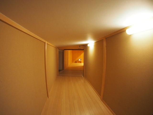 本丸御殿の渡り廊下