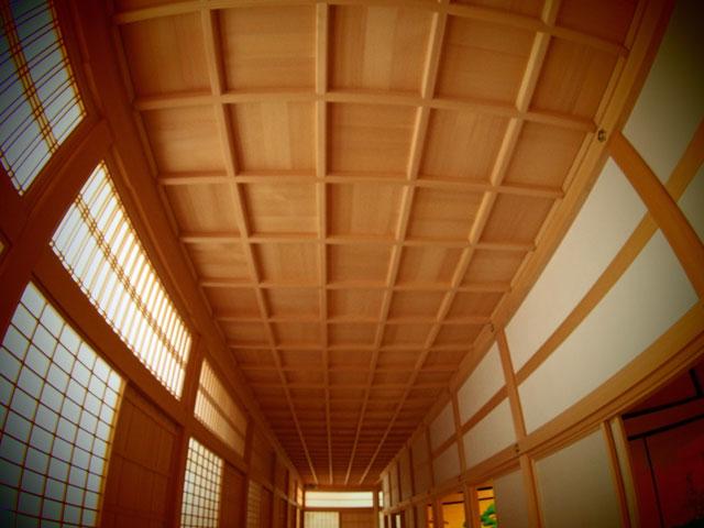 本丸の廊下