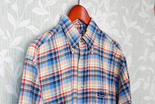ヘビーチェックシャツ