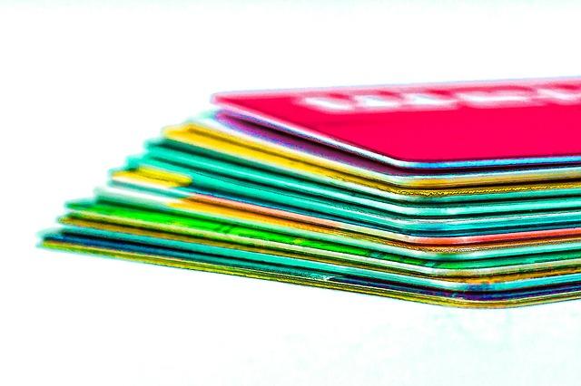 たくさんのカード