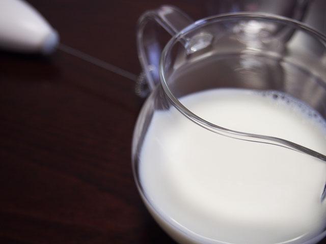 ミルク入れ部分