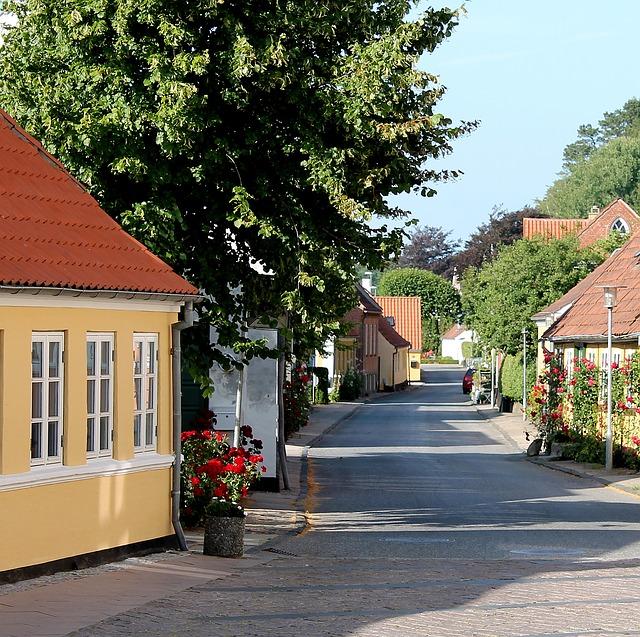 デンマークの住宅地