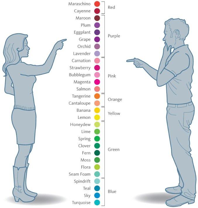 海外のサイトより虹の色