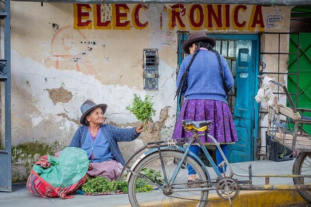 ペルー人のおばあちゃん