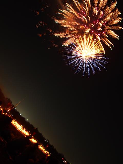 斜め撮り花火2