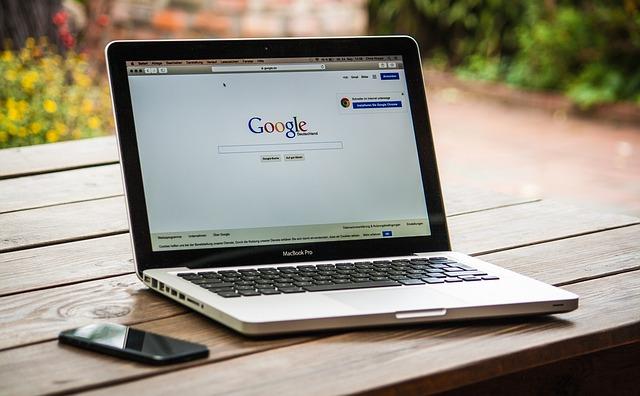 macにgoogleの画面