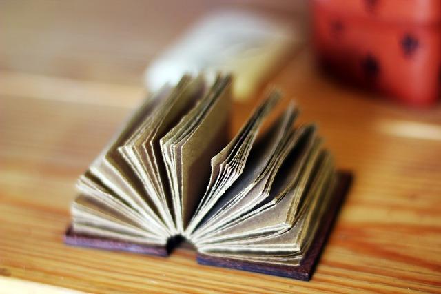 パラパラした本