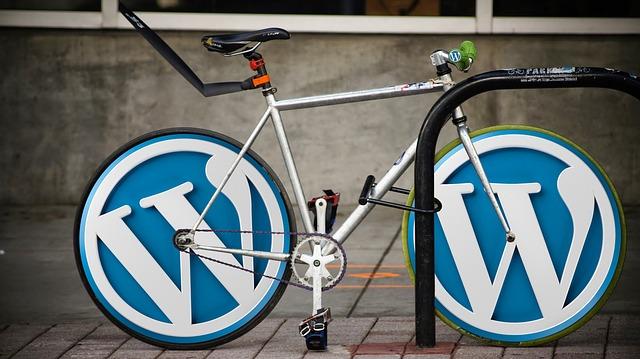 ワードプレス自転車