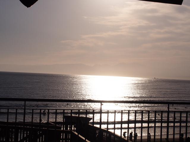 江ノ島水族館からの夕暮れ
