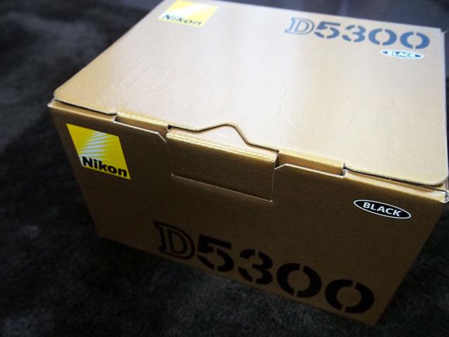 D5300の箱