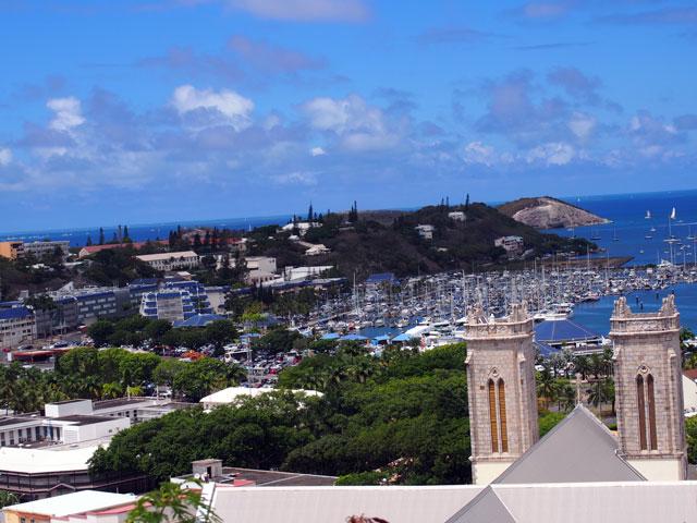 丘から見た風景