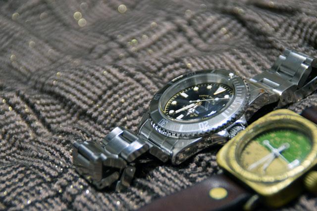 gryfadと手作り時計