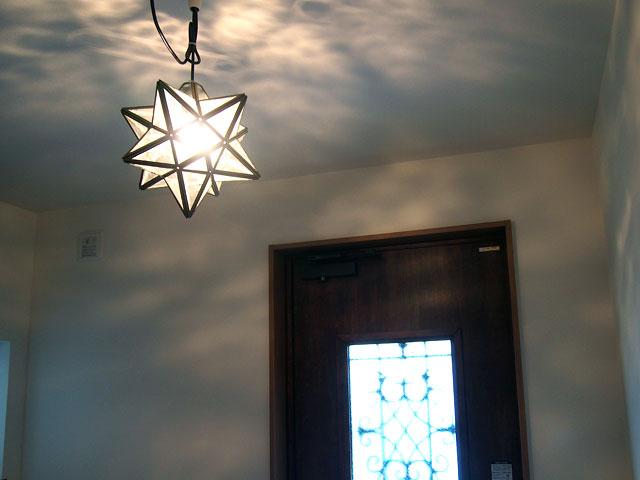 星型のライト