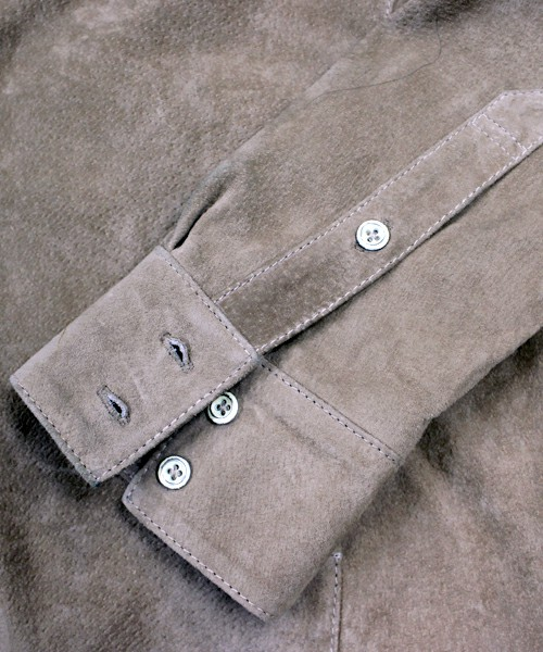 豚革のジャケット