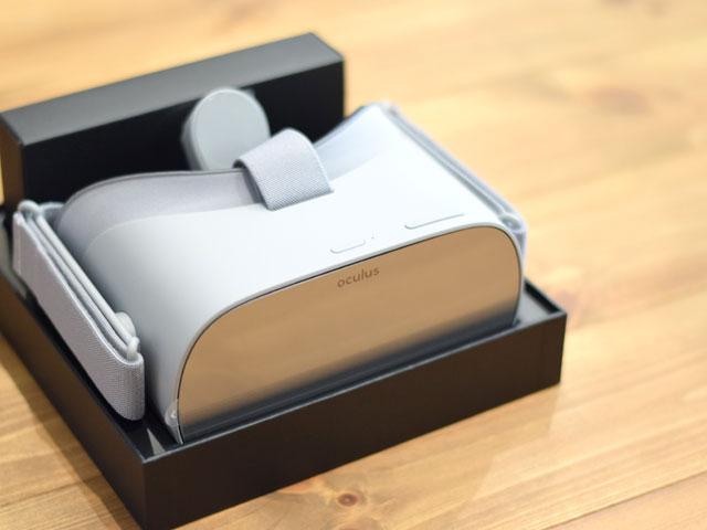 oculus goの外観