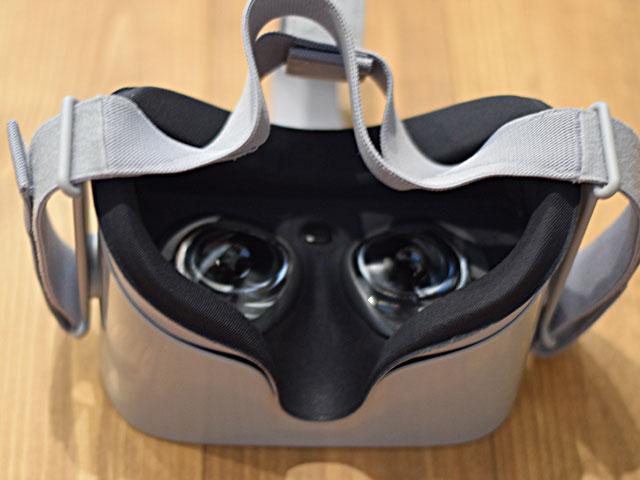 Oculus-Goの装着部分
